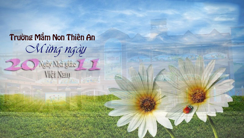 truong mn thien an   mung ngay nha giao vn