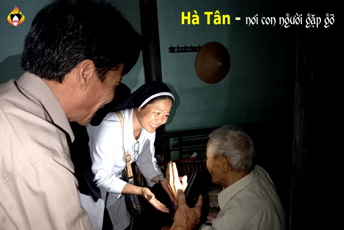 ha tan   noi con nguoi gap go