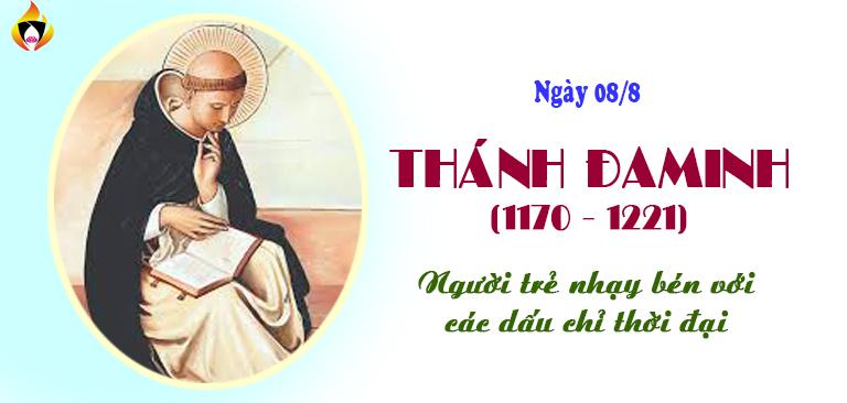 Thánh Đa Minh (1170-1221)